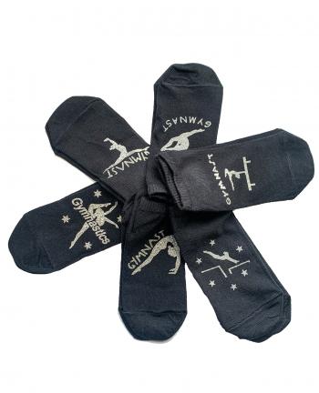 gymnast socks black