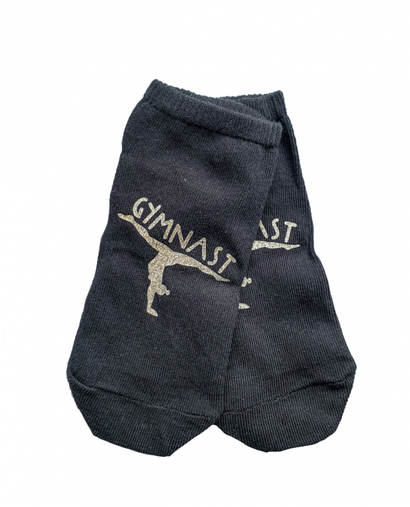 gymnast socks black