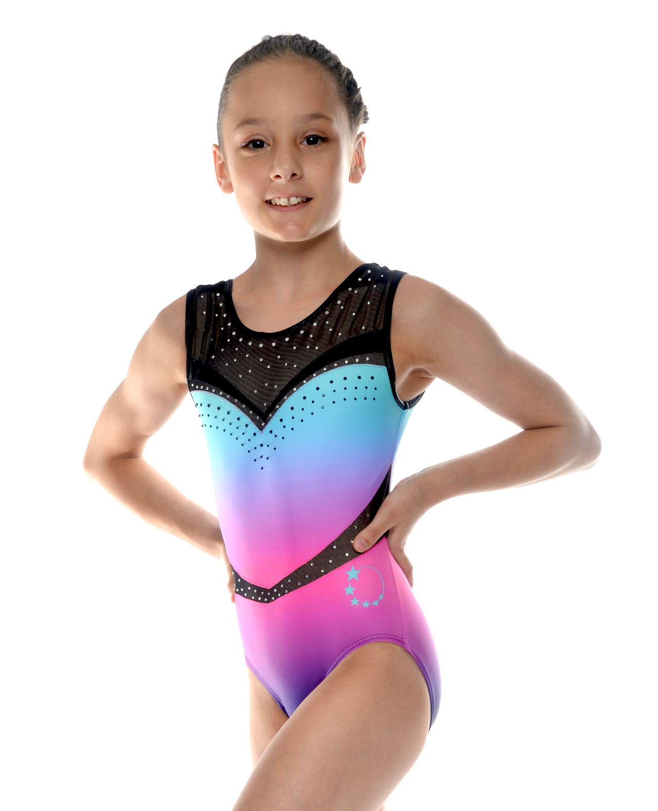 leotard gymnastics ombre purple blue pink 6ec7dd1b8021f