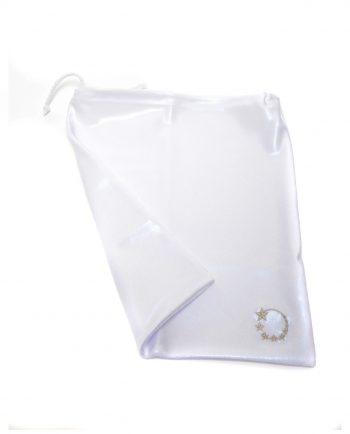 white handguard drawsting bag