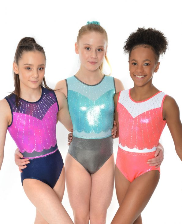 new gymnastics tank leotard