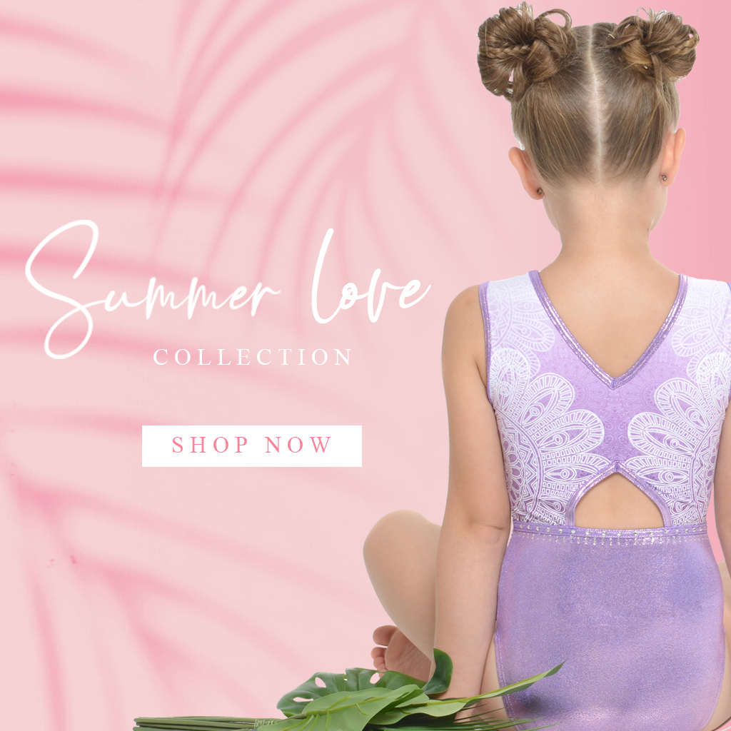 Summe Love 2020 Gymnastics Leotard Collection
