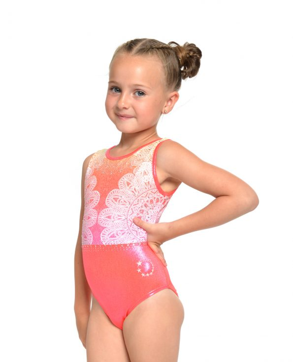 Orange Summer Ombre Leotard