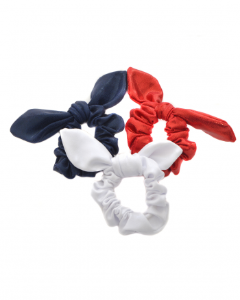 gymnastics scrunchie offer red white blue
