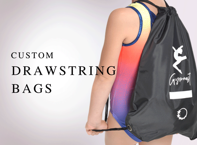 Gymnastics Club Logo Bags