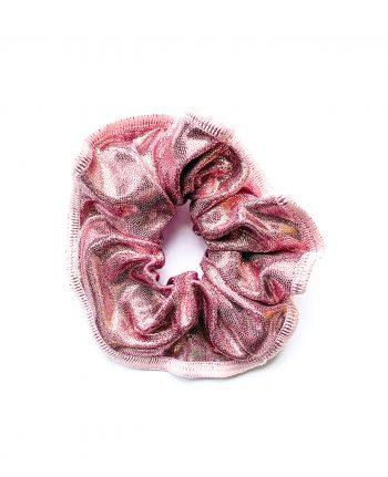 rose gold gymnastics scrunchie