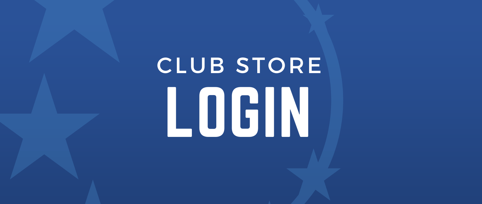 Club Store Login Hero