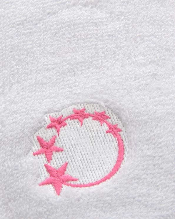 white gymnastics sweatband wrist protection
