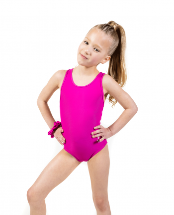 Pink Soft Lycra Leotard