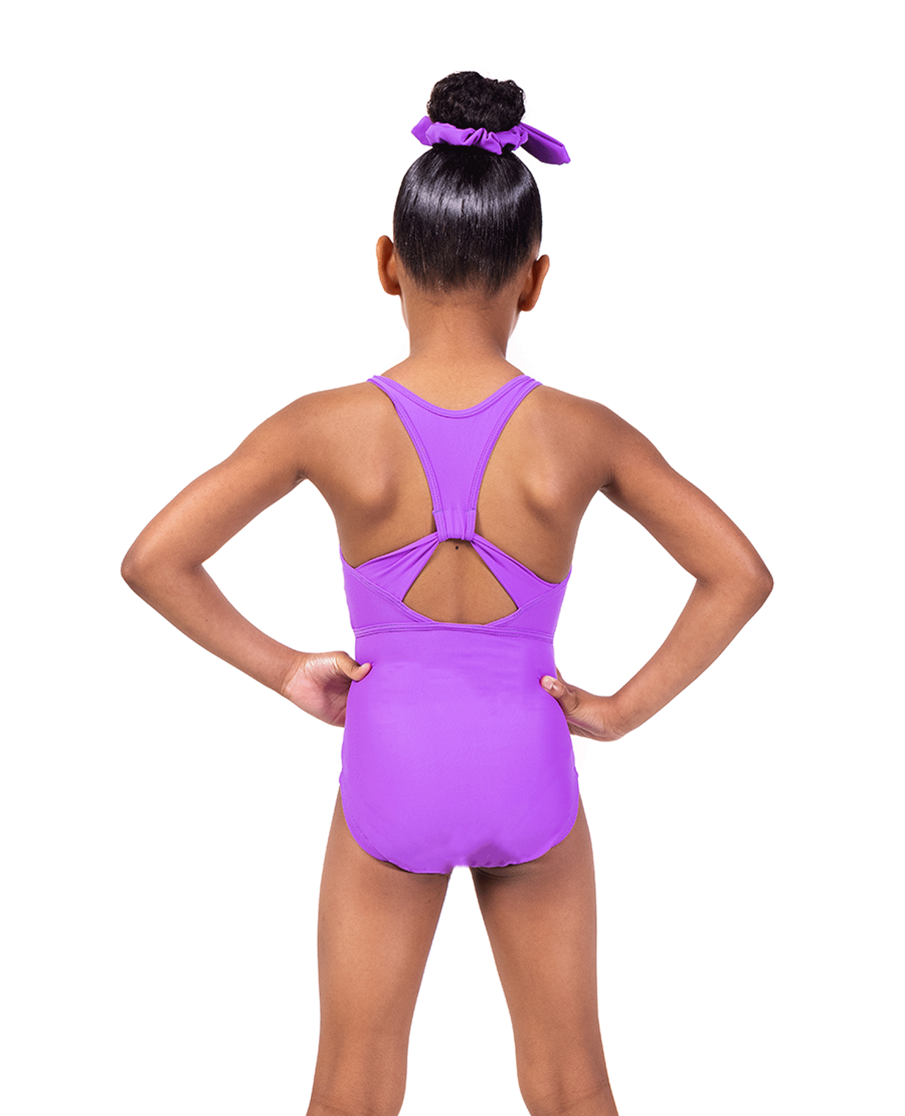 Purple Soft Lycra Leotard