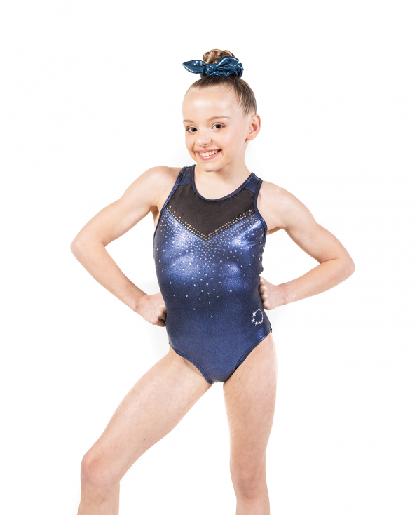 Black Racer back Leotard