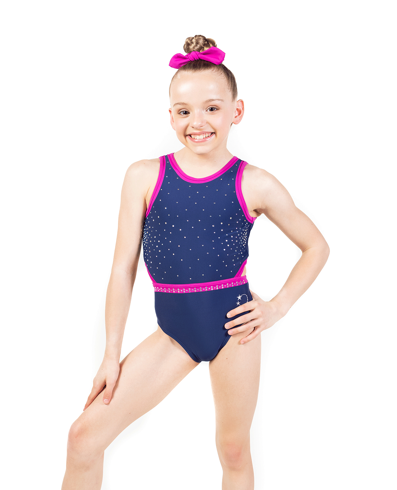 Cut out sides Lycra Leotard