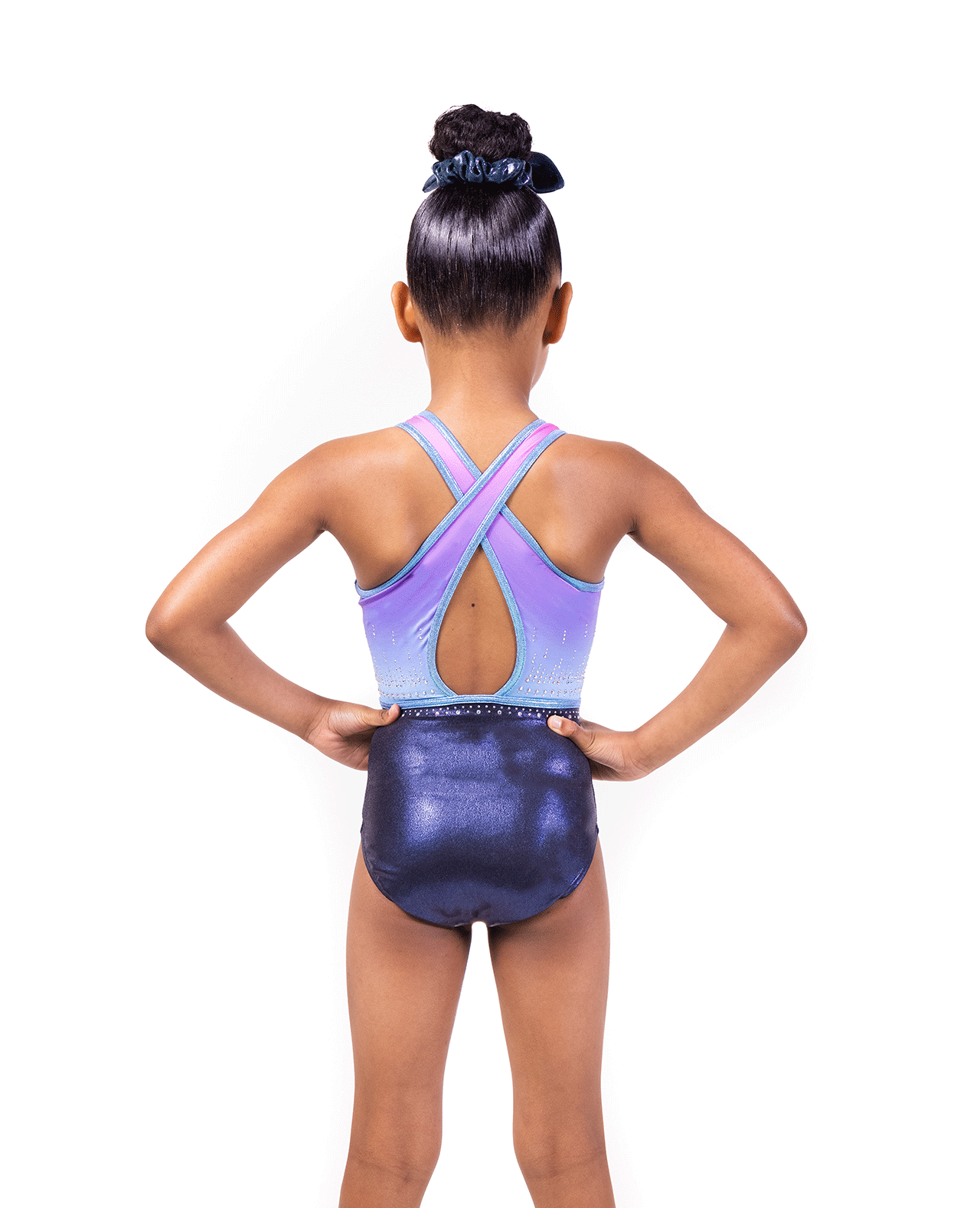 Cross back Pastel Mystique Leotard
