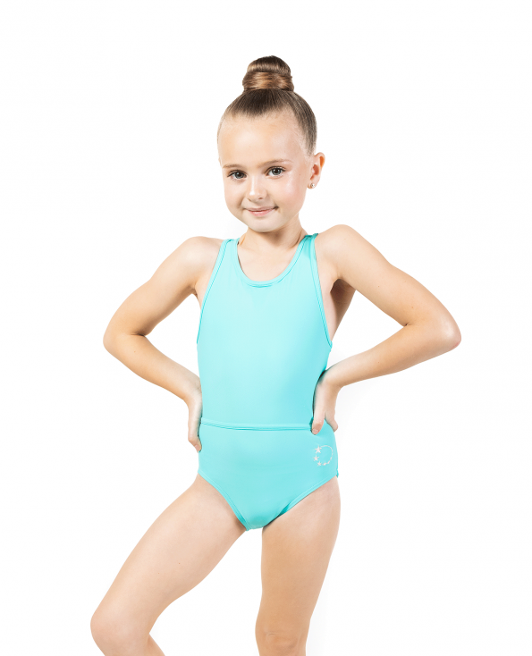 Neon Mint Soft Lycra Leotard