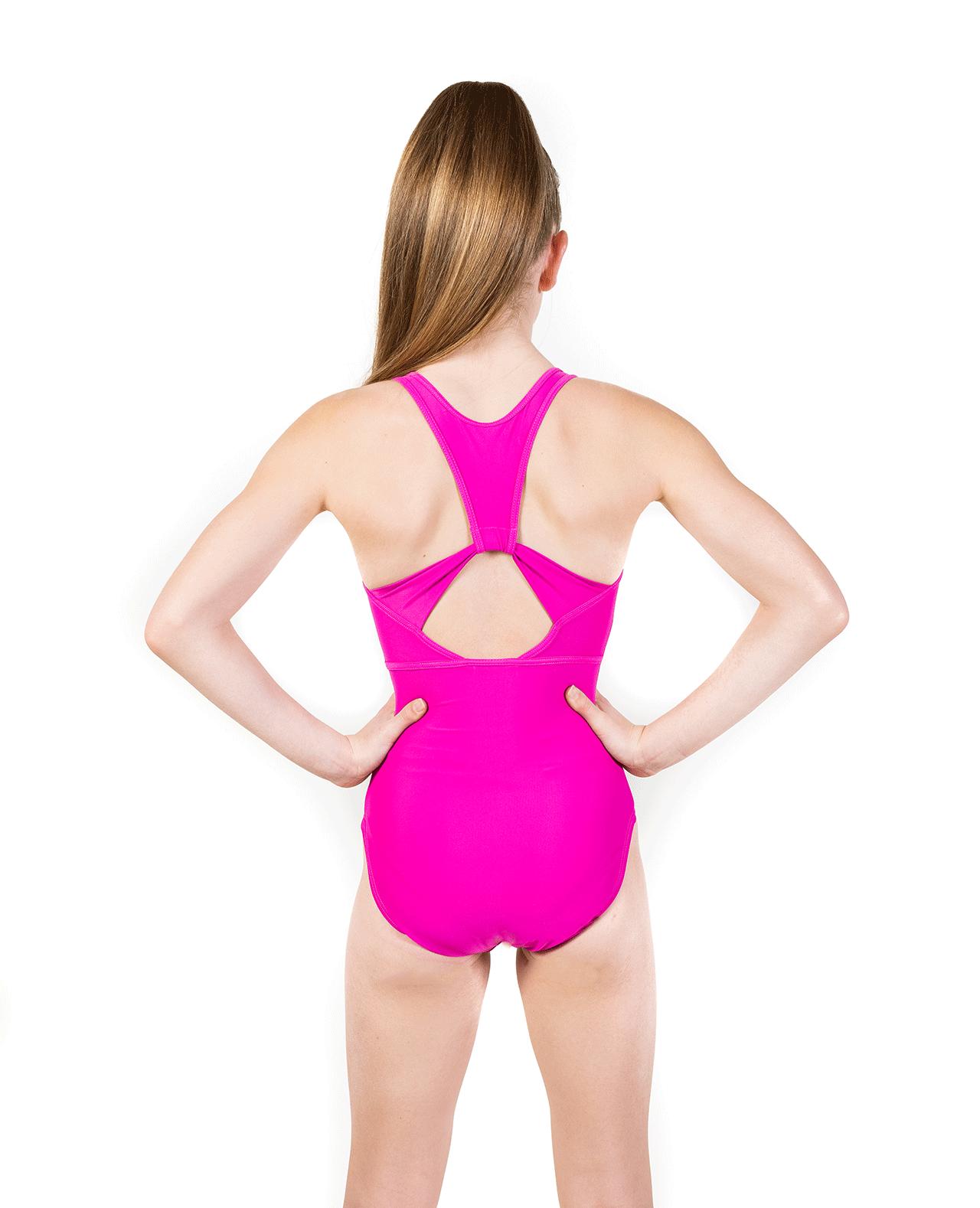 Pink Soft Lycra Leotard