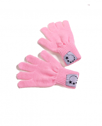 pink gymnastics gloves