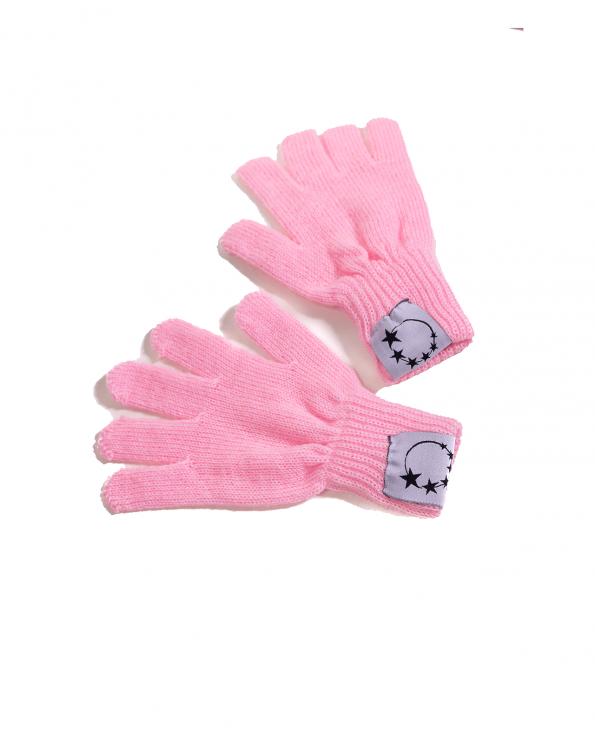 pink gymnastics gloves