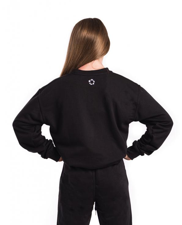 crewneck, sweatshirt, soft, tracksuit set